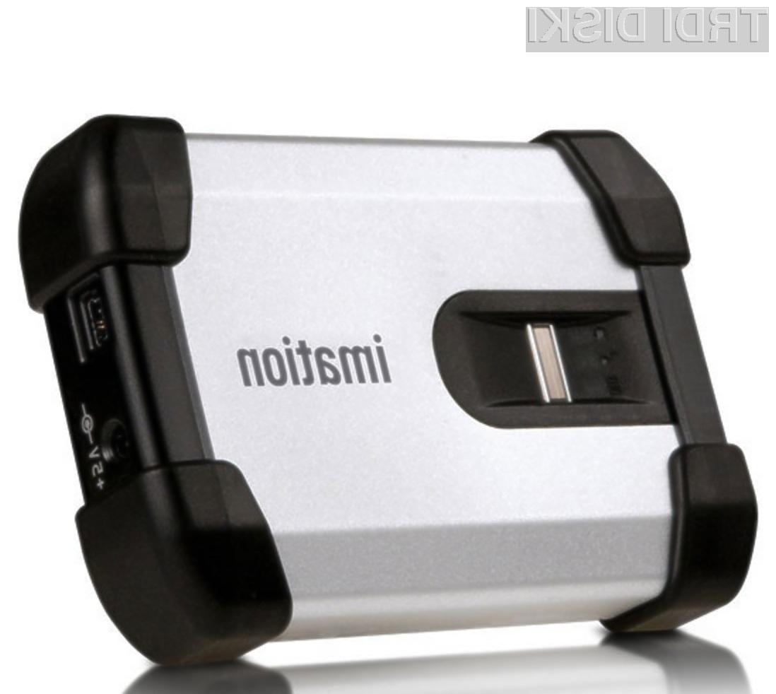 Z zunanjima trdima diskoma Imation Defender H100 in H200 bodo naši podatki povsem varni pred zlikovci!
