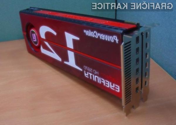 PowerColor z grafično kartico Radeon HD 5970 stavi na večzaslonsko delo.