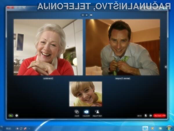 Novi Skype je bogatejši tudi za preglednejši in bolj intuitivni uporabniški vmesnik.