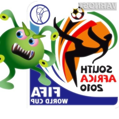 Prevarantske spletne strani po svoji podobi in vsebini močno spominjajo na uradna spletna mesta Fifa world cup 2010.