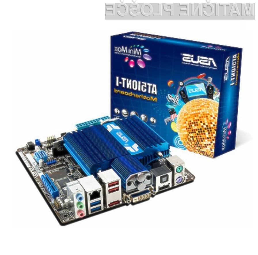 Asus AT5IONT-I: osebni računalnik v malem.