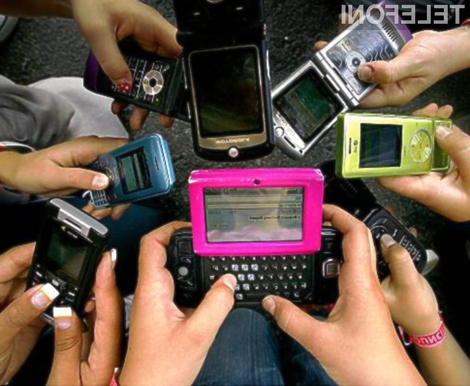 Koliko mobilnih telefonov si lastite?