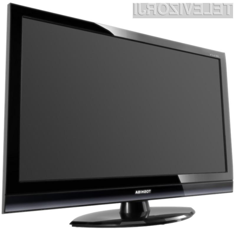 Toshiba ima resne načrte na trgu 3D televizorjev.