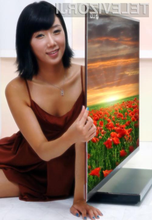 Bo najtanjši televizor OLED navdušil južnokorejske in nemške ljubitelje filma?