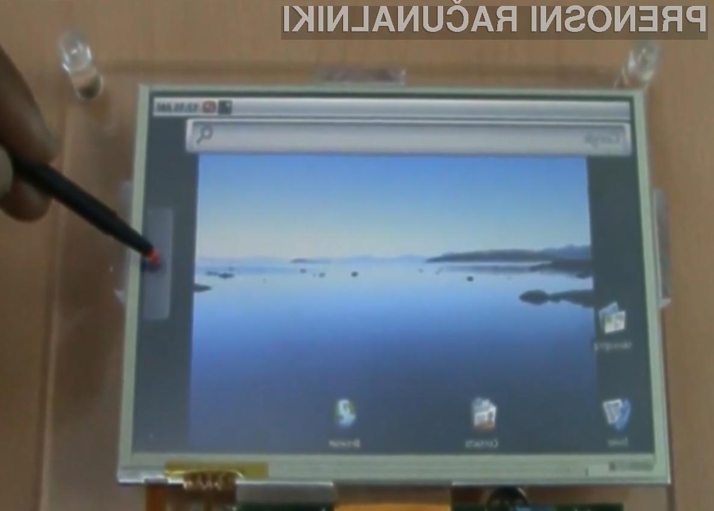 Tablični računalnik Allgo je kot nalašč za deskanje po svetovnem spletu in enostavnejša pisarniška opravila.