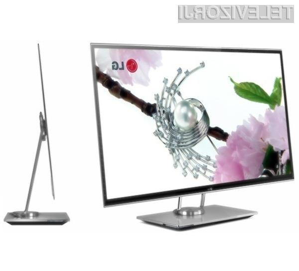 Podjetje LG Electronics bo kot prvo ponudilo v prodajo televizor OLED z 31-palčno diagonalo.