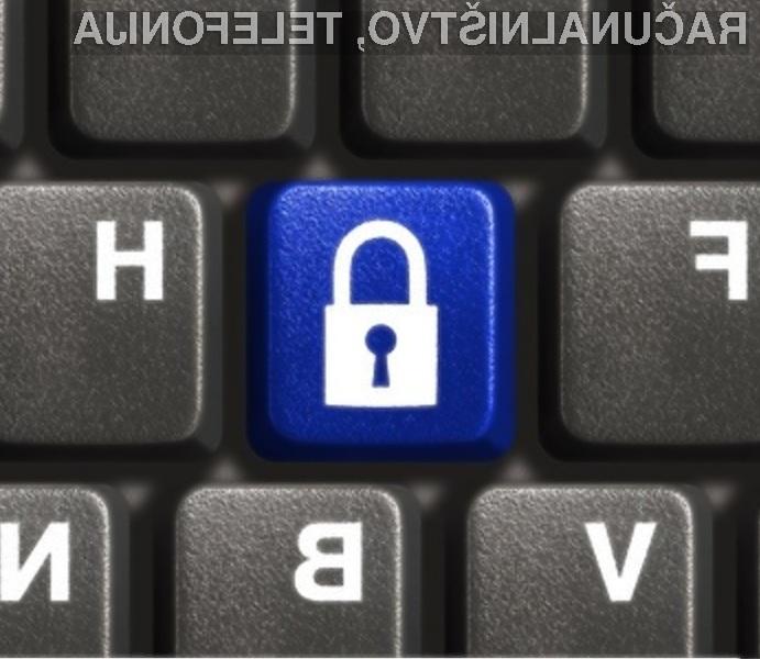 Dostopno geslo je edina varovalka, ki vašo zasebnost loči od spletnih nepridipravov!