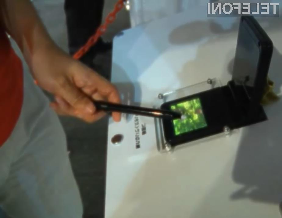 Prvi 3D zaslon s 3D dotikom preprosto navdušuje!