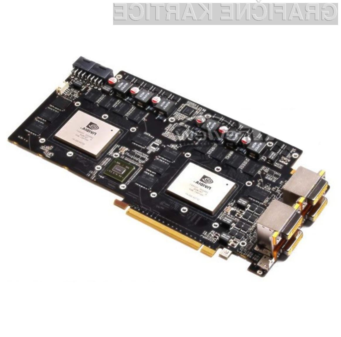 Zmogljivost grafične kartice Zotac GeForce GTX 460 X2 bomo le stežka izkoristili v celoti!