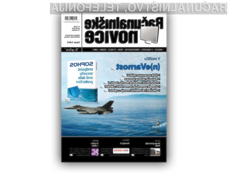 Nova številka revije Računalniške novice 19XV vas že čaka v kioskih!