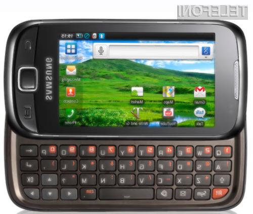 Samsung I5510 Galaxy 551 bo kmalu prispel na prodajne police.