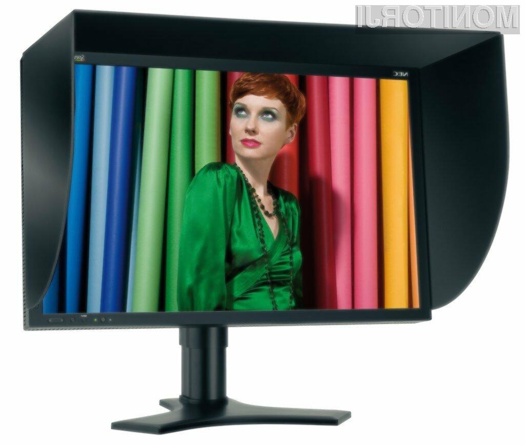 NEC je napovedal nov profesionalni monitor z diagonalo 23 palcev, ki je opremljena z IPS panelom.