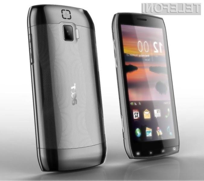 Pri novem mobilniku podjetja Acer se bomo morali sprijazniti z dejstvom, da ga ne bomo mogli nositi v žepu