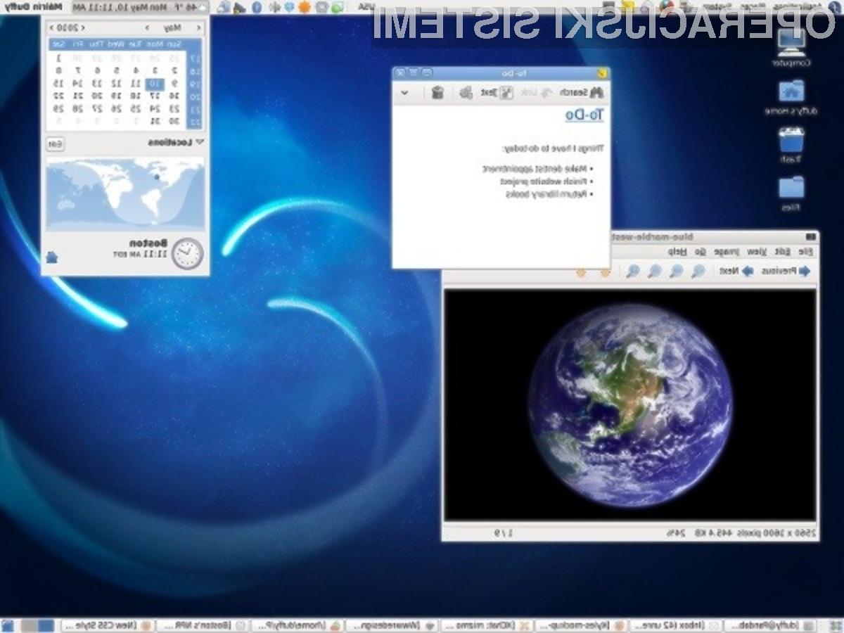 Novi odprtokodni operacijski sistem Fedora 14 vas zagotovo ne bo pustil hladne!