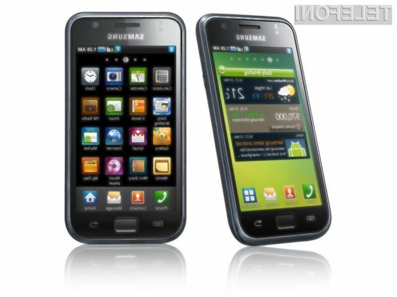Android 2.3.3 Gingerbread se več kot odlično prilega mobilniku Samsung Galaxy S I9000.