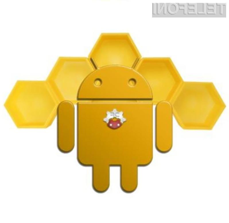 Mobilni operacijski sistem Android 3.0 Honeycomb bo pisan na kožo predvsem tabličnim računalnikom.