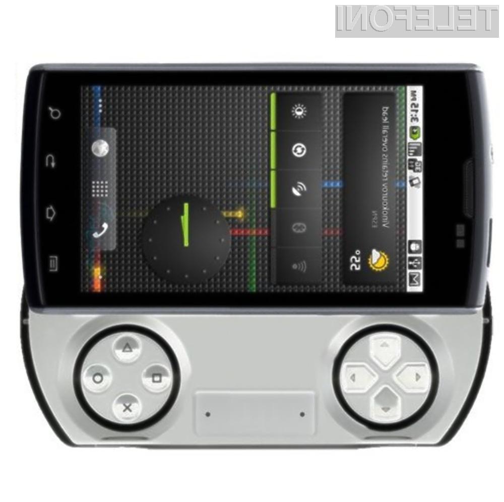 Igričarski pametni mobilni telefon Sony Ericsson Z1 PSP vsaj na papirju obeta veliko!