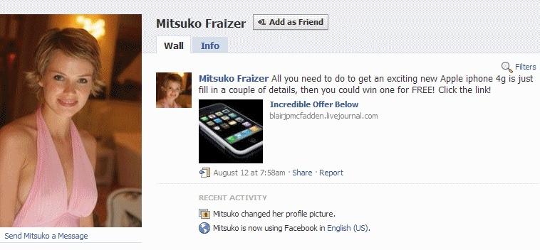 Lažni facebook profil