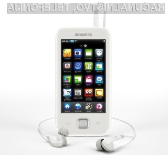 Prenosni predvajalnik Samsung Galaxy Player navdušuje v vseh pogledih!