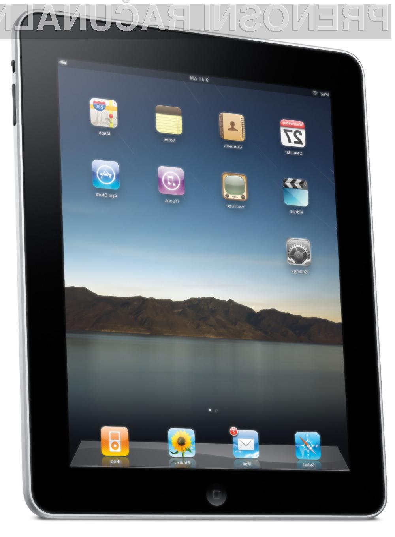 Tablični računalnik iPad 2 bo verjetno dobro prodajan Applov produkt.