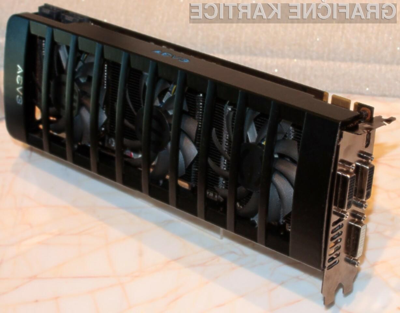 Zmogljivost grafične kartice EVGA GeForce GTX 560 X2 bomo le stežka izkoristili v celoti!