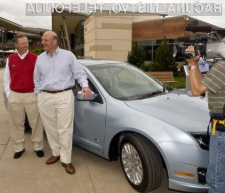 Bi vozili avtomobil, ki bi temeljil na osnovi Microsoftove tehnologije?