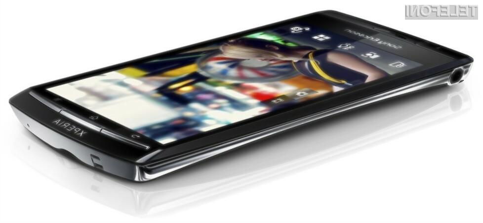 Nov Sony Ericssonov