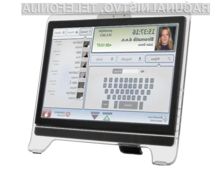 eTM, sodobni registrator delovnega časa, deluje tudi v oblaku.
