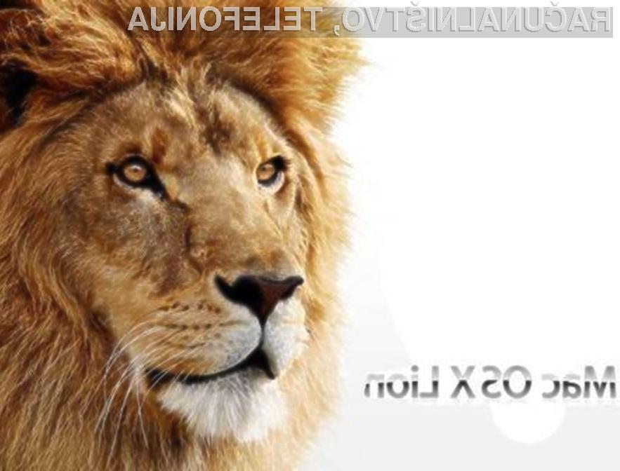 Zaradi programske napake v operacijskem sistemu MacOS X 10.7.3 Lion ste lahko pri nadgradnji ob šifrirno geslo.