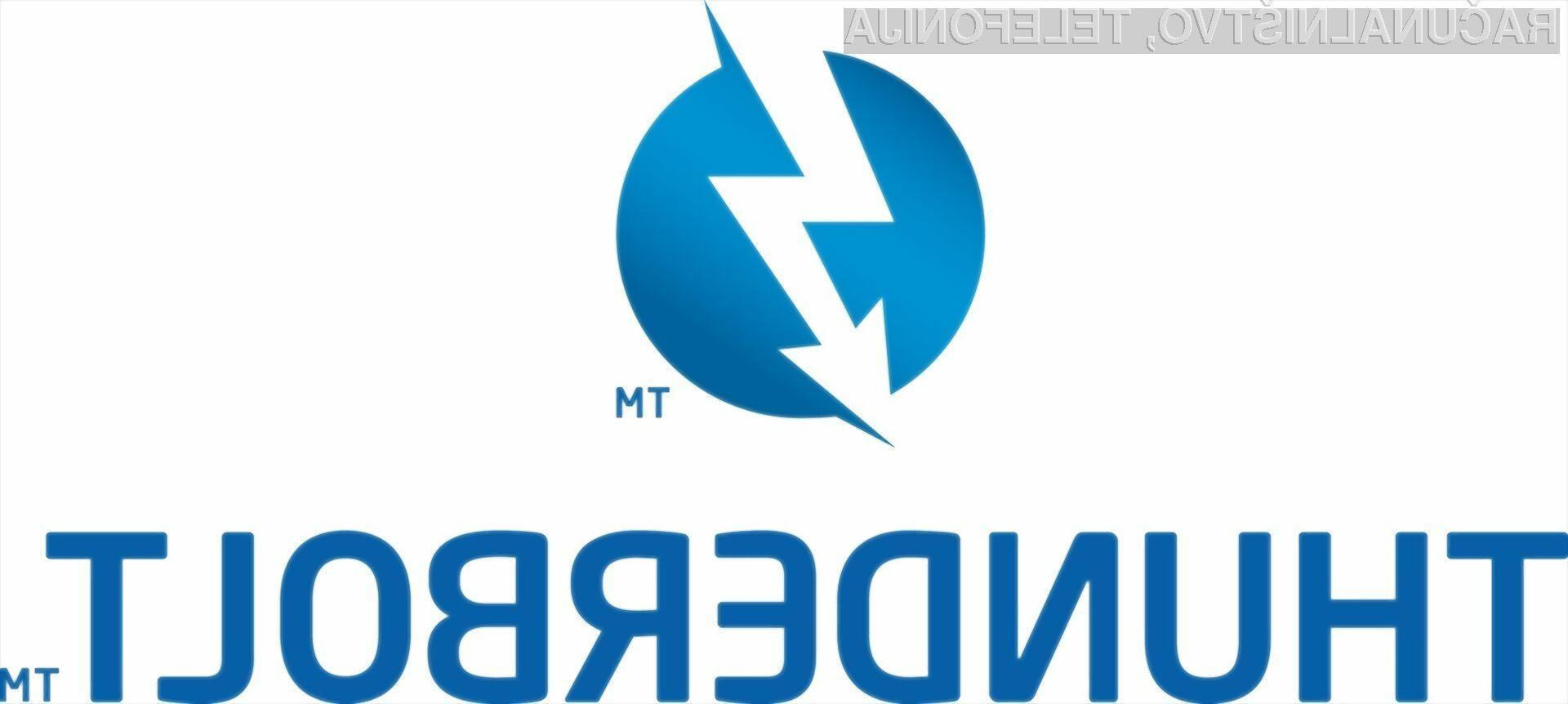Prednosti tehnologije Thunderbolt bodo kmalu pričeli koristiti tudi uporabniki osebnih in prenosnih računalnikov.