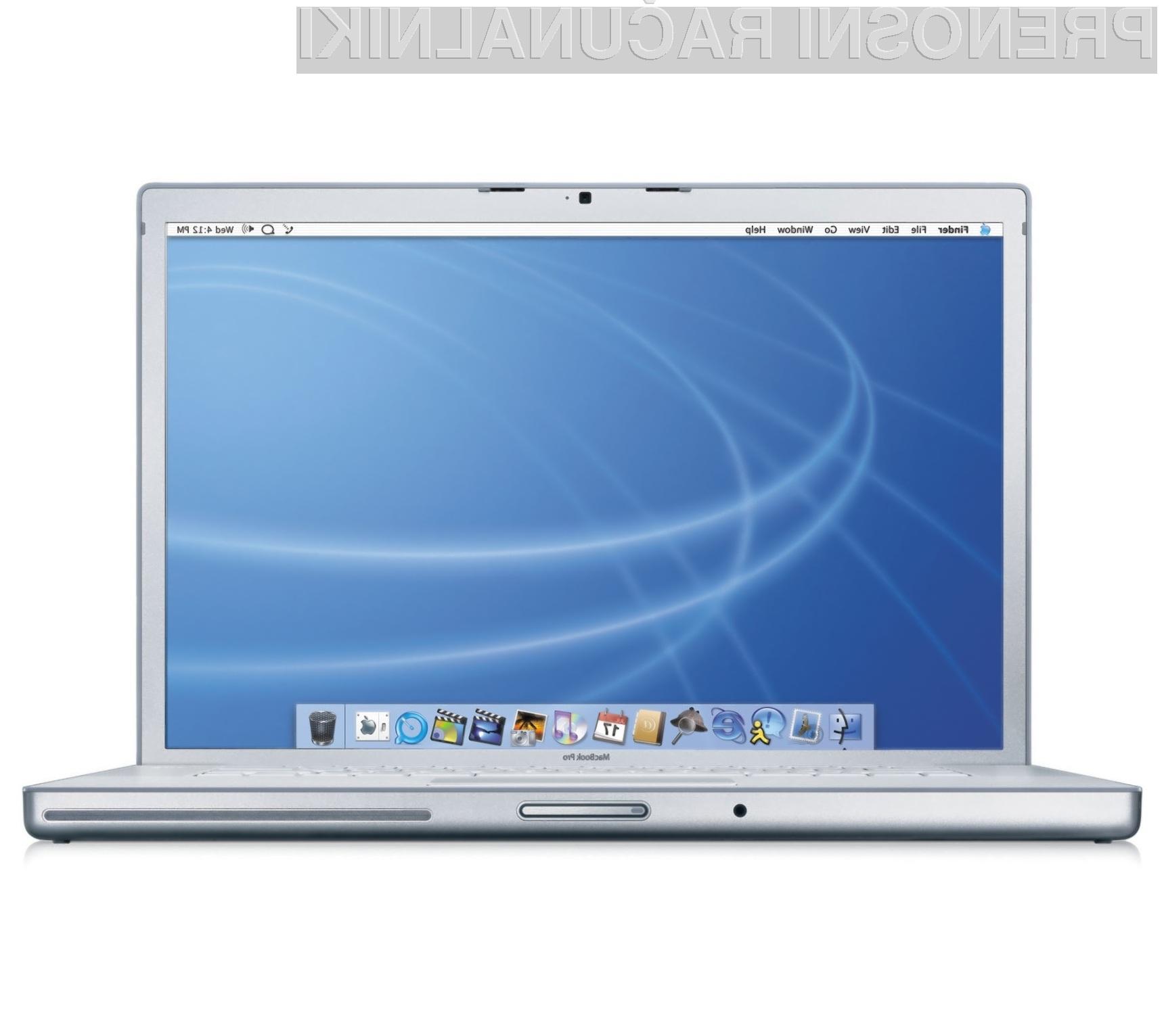 Apple MacBook Pro in Intel Light Peak: Zmagovalna kombinacija?