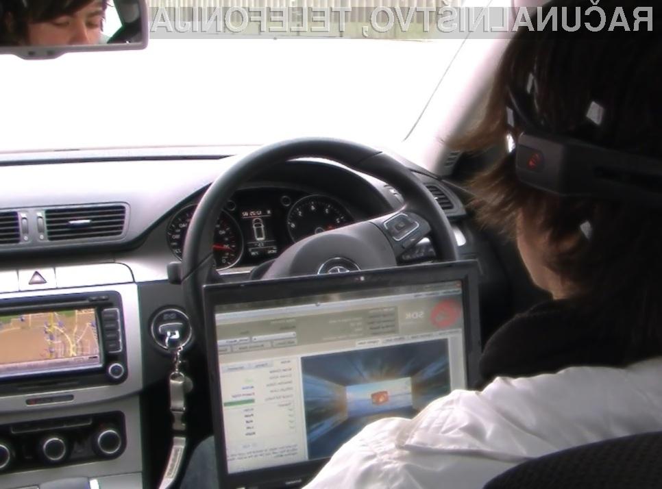 Visokotehnološki VW Passat je prvi avtomobil na svetu, ki ga lahko upravljamo z mislimi.