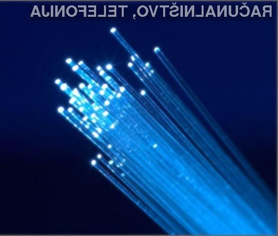 Si predstavljate internetno povezavo s hitrostjo 109 terabitov na sekundo?