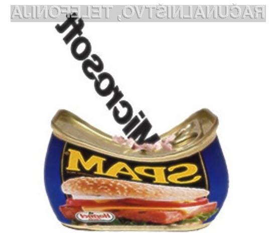 Microsoftu se gre zahvaliti, da imamo v e-poštnem predalu občutno manj neželenih e-sporočil!