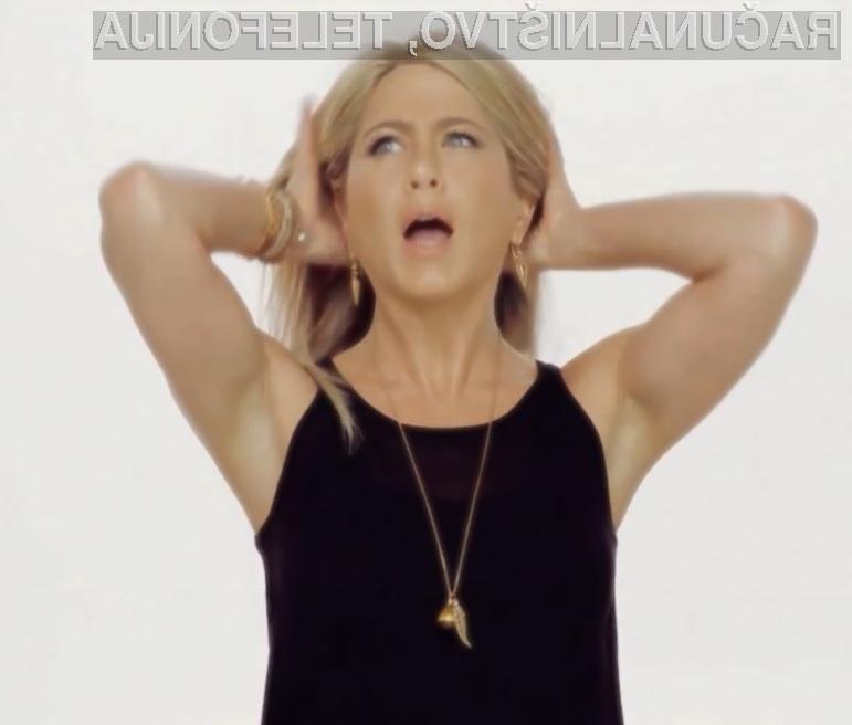 Videoposnetek Jennifer Aniston Sex Tape je pritegnil že več kot osem milijonov spletnih deskarjev.