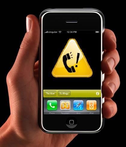 Uporabnikom mobilne telefonije svetujemo, da odgovarjajo le na neodgovorjene mednarodne klice z njim znanih številk.