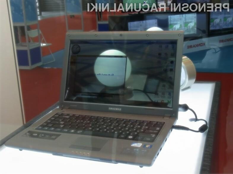 Samsung nadaljuje s predstavitvami svojih prozornih displajev, ki jih vgrajujejo tudi v prenosnike.