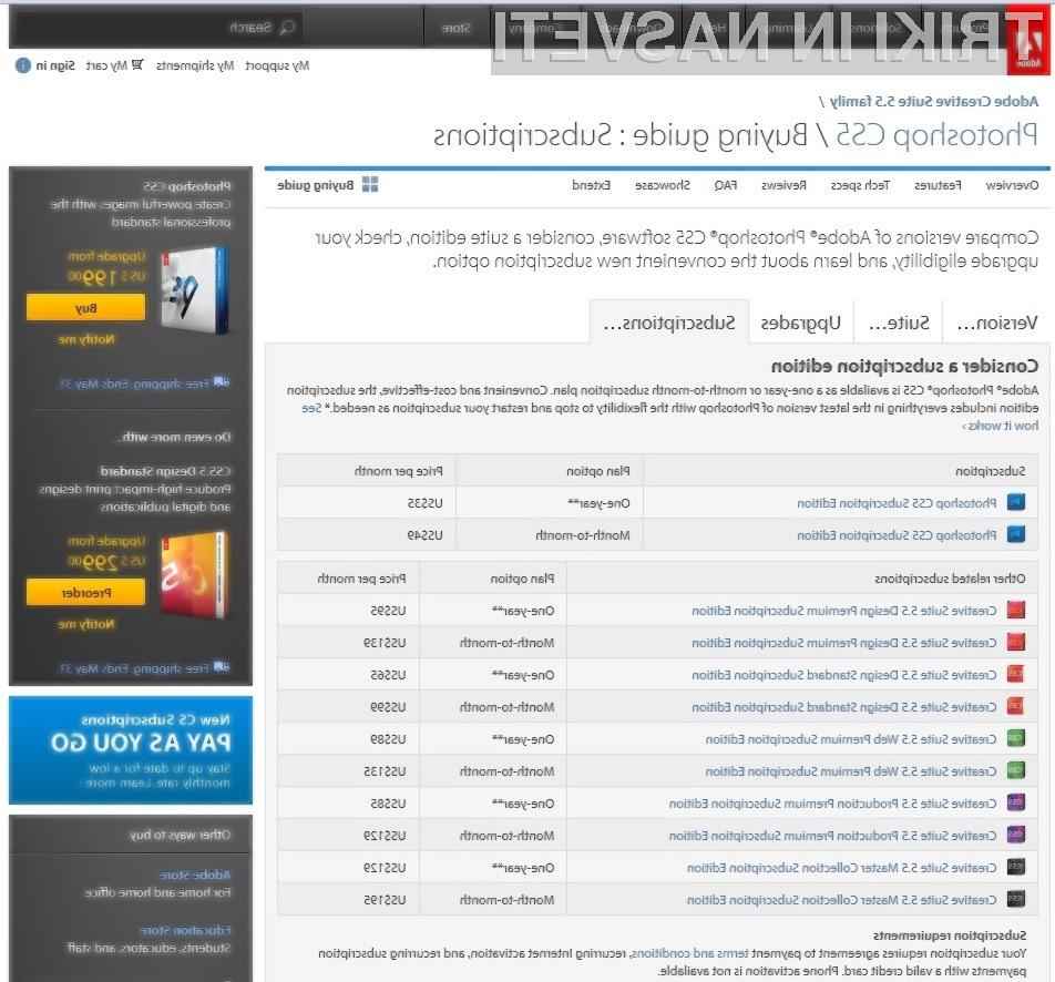Je podjetje Adobe našlo pravi recept v boju proti spletnemu piratstvu?