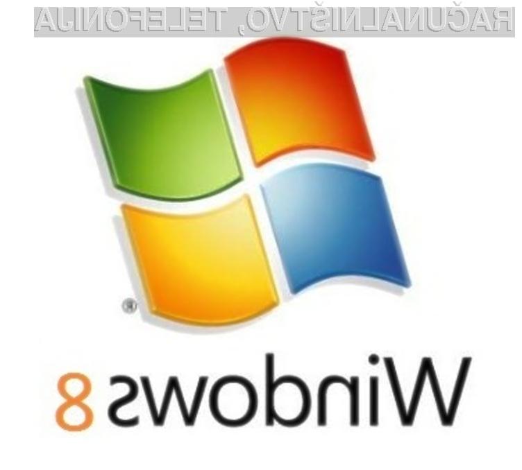 Operacijski sistem Windows 8 bo mogoče namestiti povsod tam, kjer delujejo Okna 7.