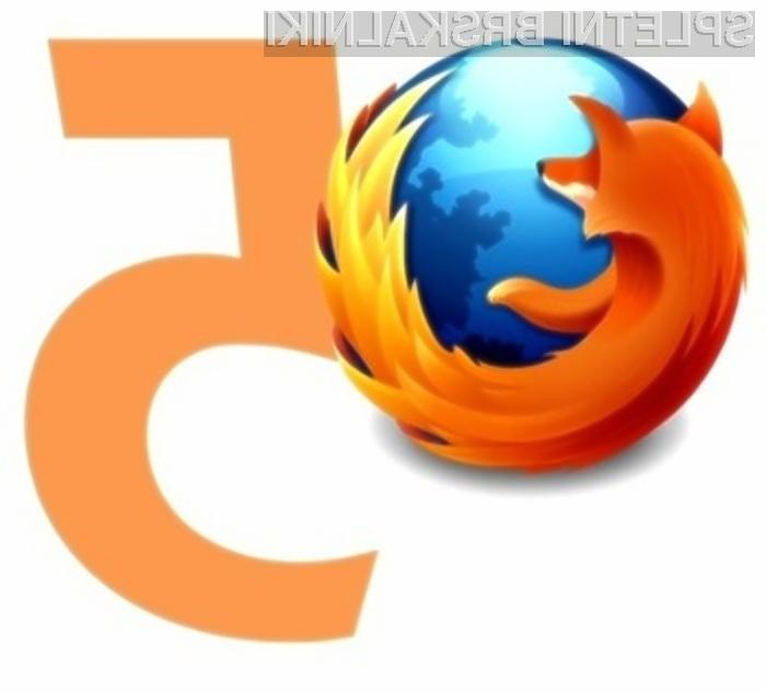 Spletni brskalnik Mozilla Firefox 5 naj bi prinesel veliko zanimivih in uporabnih novosti!