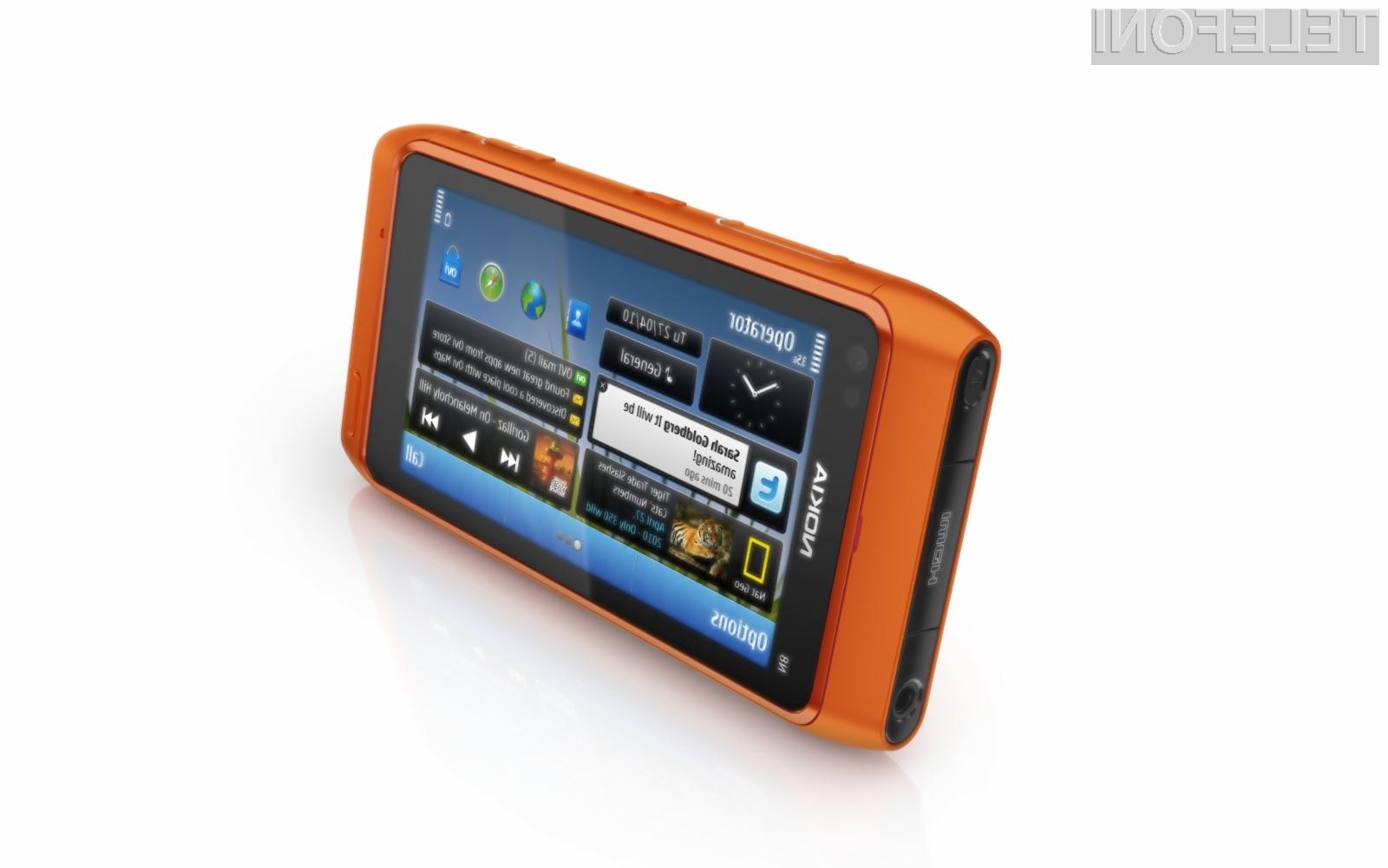 Eden bolj uspešnih mobilnikov Nokie v zadnjem času je N8.