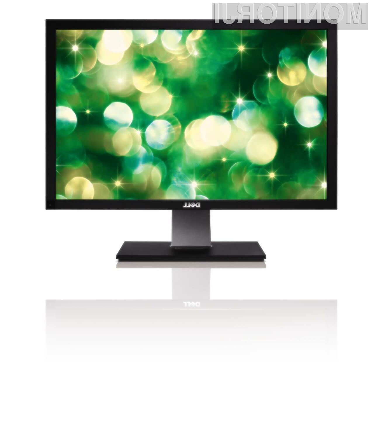 V Dell-ovi ponudbi lahko  med drugim najdemo tudi ogromen 30-palčni IPS monitor U3011.
