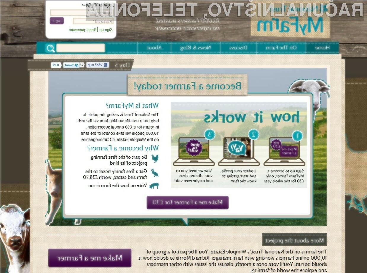 Vas je oddaljeno kmetovanje že prevzelo?