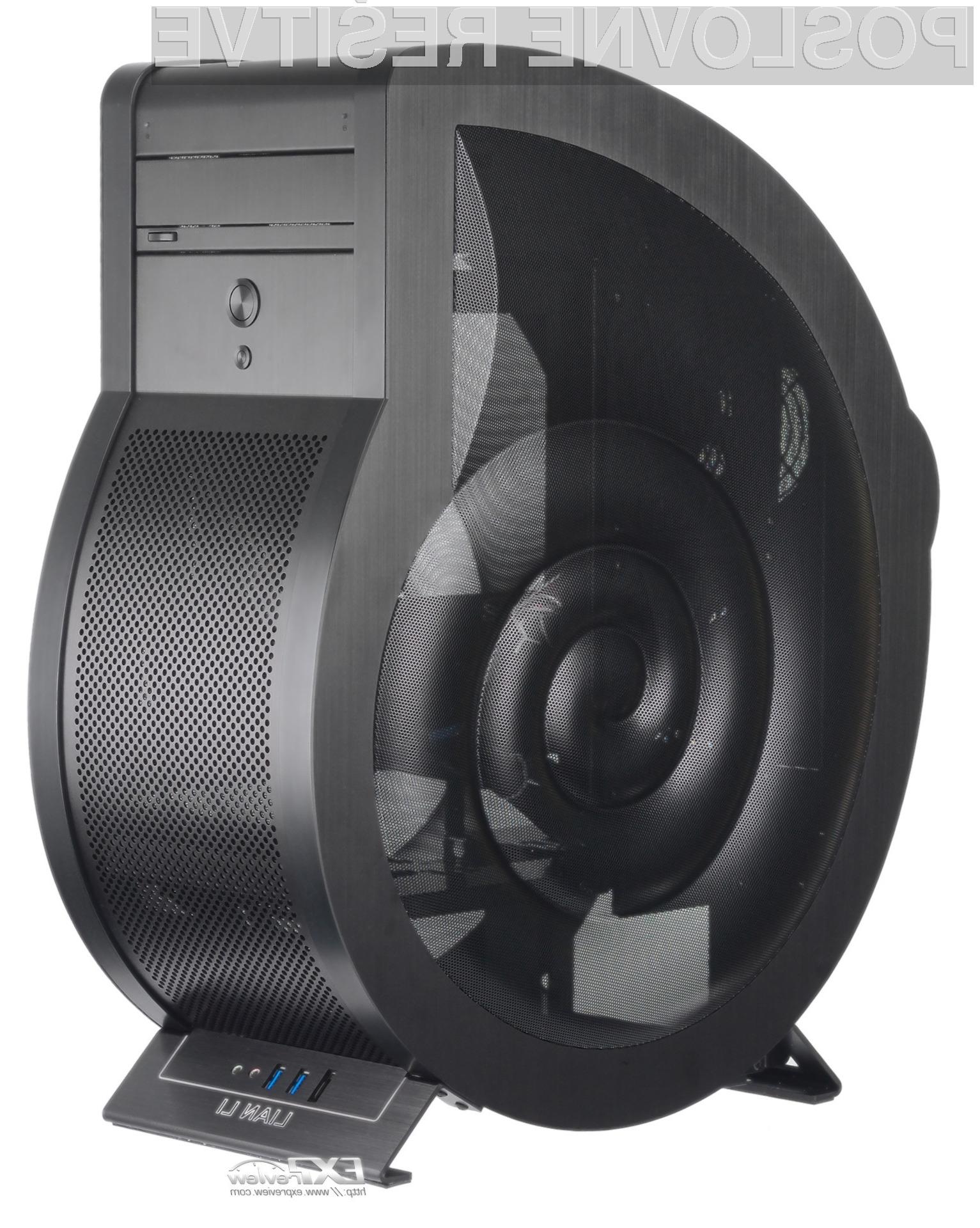Ohišje Lian PC-U6 Cowry prinaša neobičajno obliko, dobro ventilacijo in dovolj prostora za plošče formata micro-ATX in zmogljivejše grafične kartice.