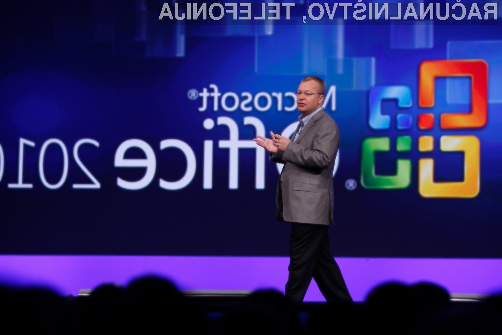 Direktor Nokije, Stephen Elop pravi, da je podjetje trenutno v obdobju, v katerem se morajo naložbe v sistem Symbian nujno nadaljevati.