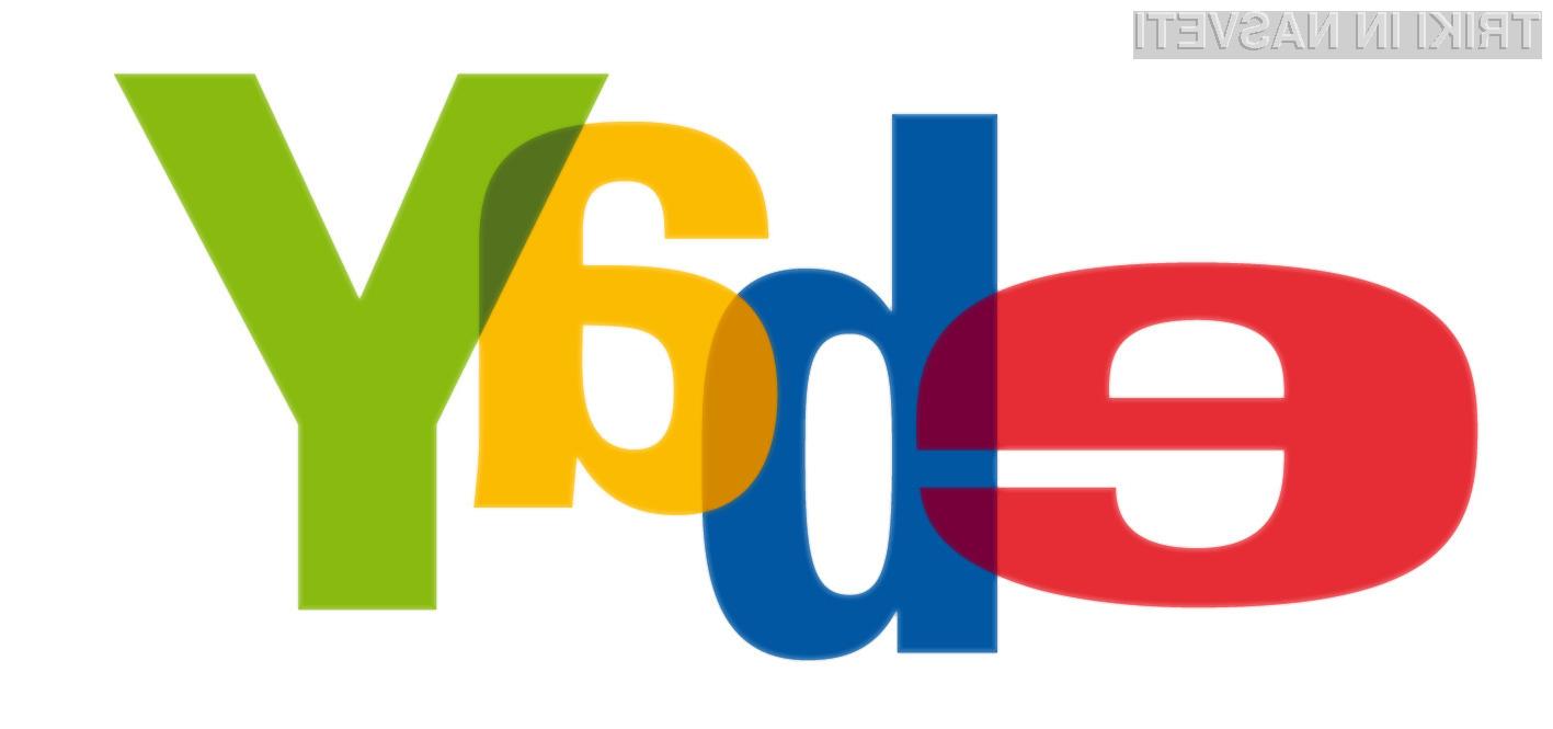 Če uporabljate spletno storitev eBay, nemudoma spremenite vaše geslo!
