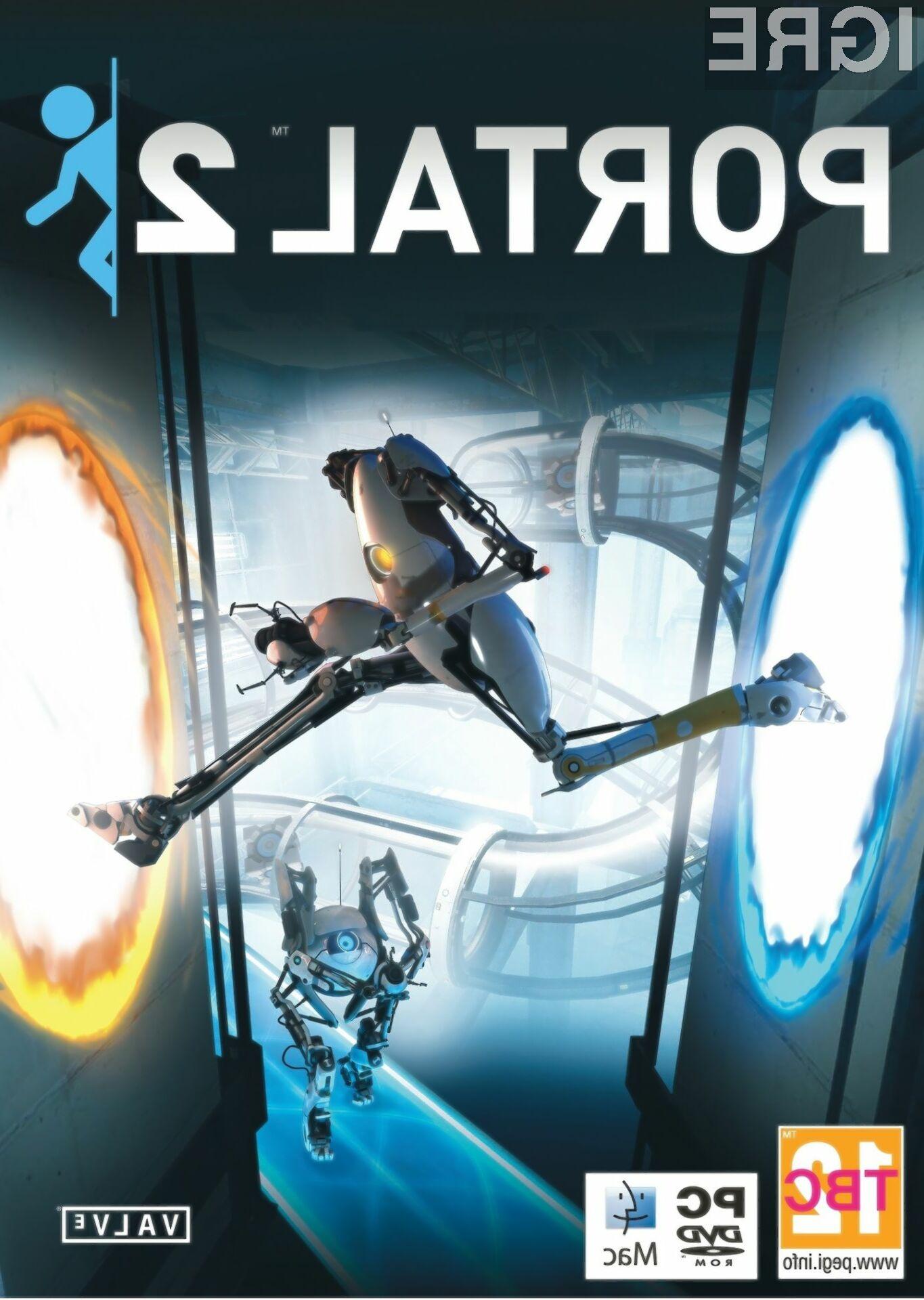Nabrusite možgane, tukaj je Portal 2.