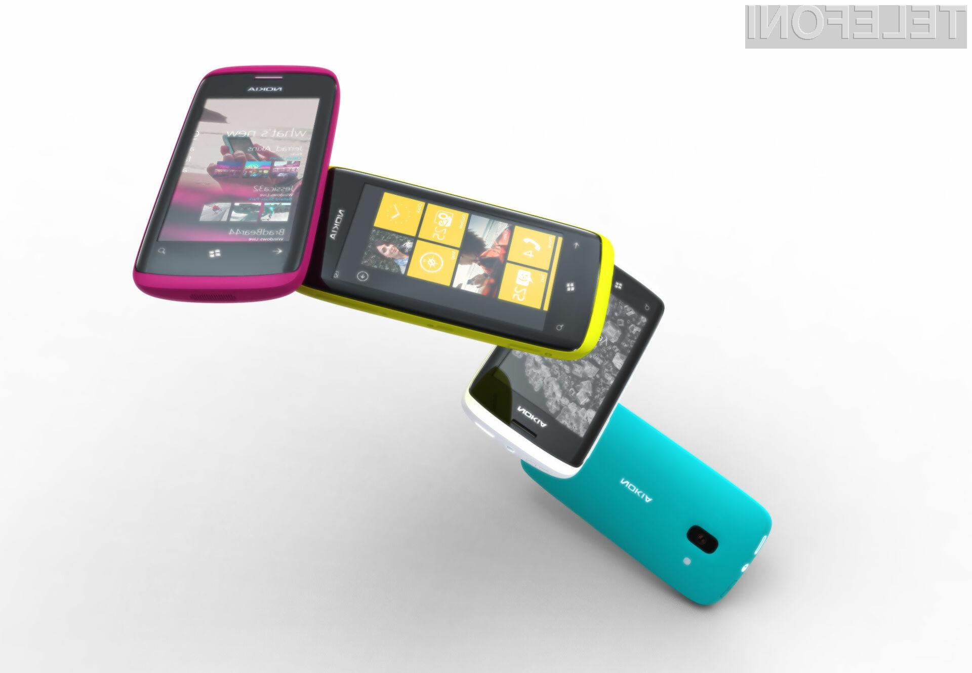 Nokia si od mobilnikov z operacijskim sistemom Windows Phone 7 obeta veliko.
