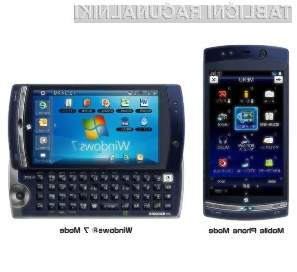 Pametni mobilni telefon Fujitsu LOOX F-07C je dejansko najmanjši osebni računalnik na svetu.
