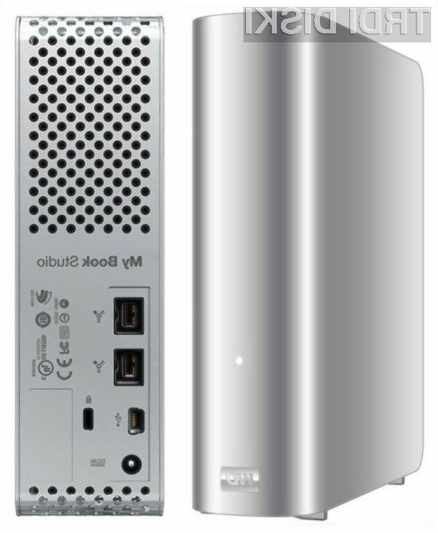 Diski My Book Studio se z računalniki Mac zelo lepo ujemajo.